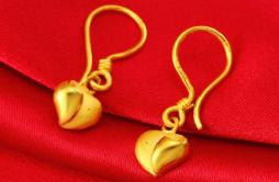 黄金耳坠一般多少钱 黄金耳坠一般佩戴多少克重