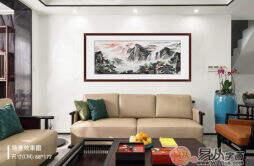 客厅沙发后面挂什么画 彰显客厅魅力的画推荐